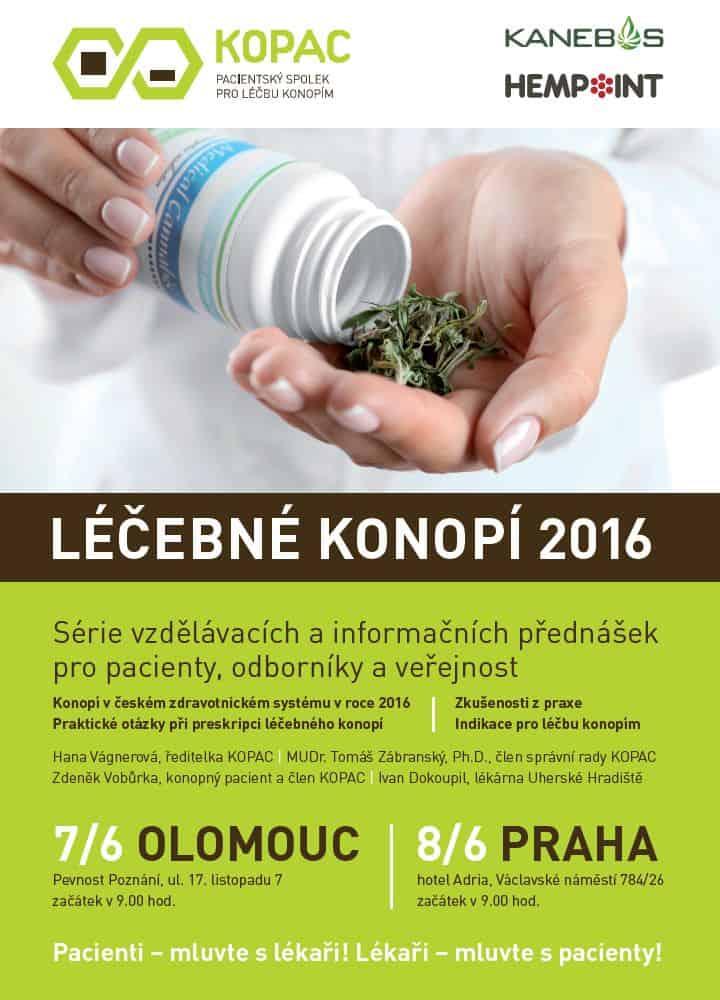 Lecebne konopi 2016 - plakat